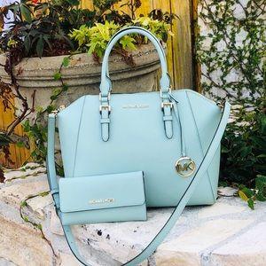 NWT Michael Kors Large Ciara handbag&wallet